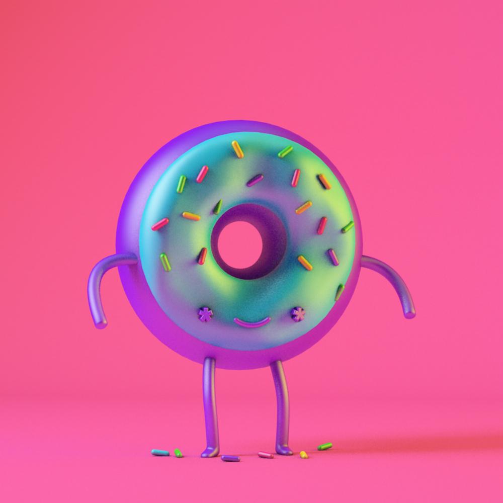 mariadelcastillo-about-me-artist-3d-character-art-donut