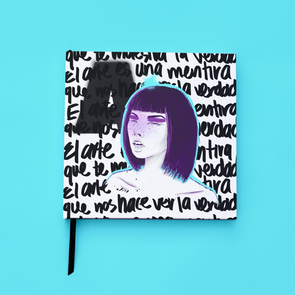 mariadelcastillo-artist-illustration-digital-portrait-art-a-letter-for-a-sketchbook