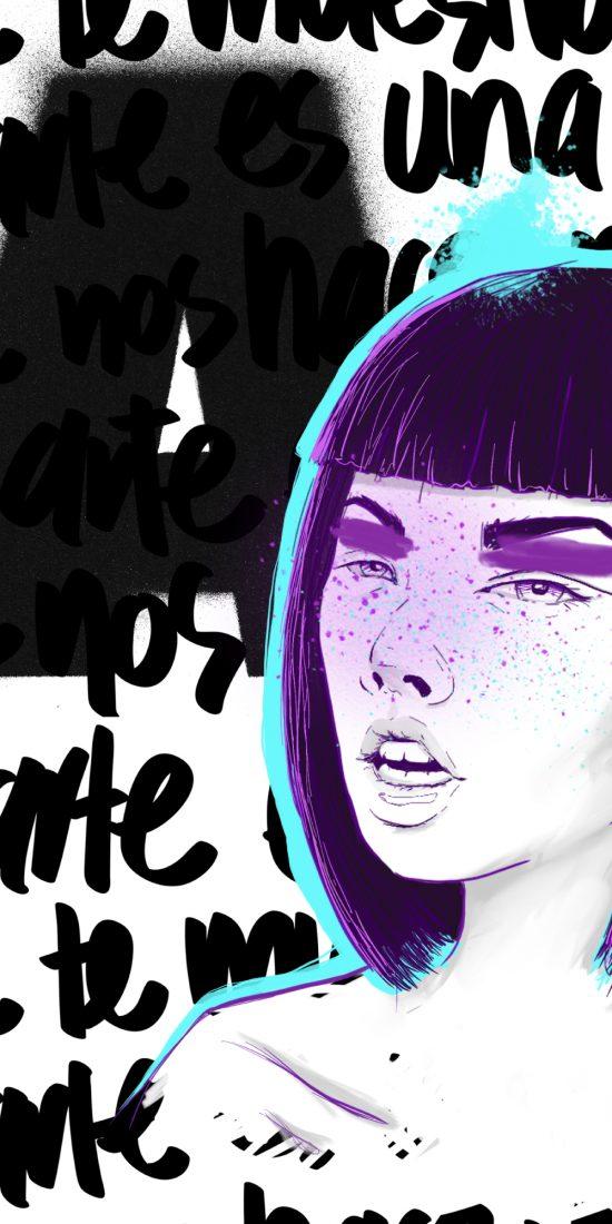 mariadelcastillo-artist-illustration-digital-portrait-art-a-letter-for-a-vert