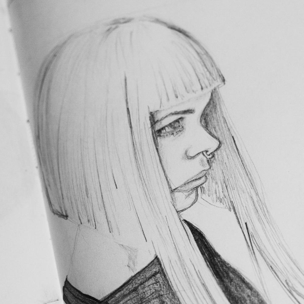 mariadelcastillo-artist-illustration-digital-portrait-art-a-letter-for-h-draw